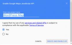 آموزش دریافت API Key گوگل مپ