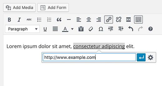 لینک کردن نوشته به آدرس وب سایت