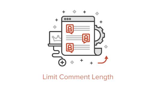 کد ایجاد محدودیت برای تعداد کاراکتر نظر وردپرس