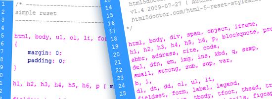 کد Css Reset سازگاری قالب و نمایش یکسان سایت در مرورگرها