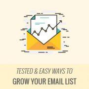 راه های آسان جهت افزایش سریع لیست ایمیل