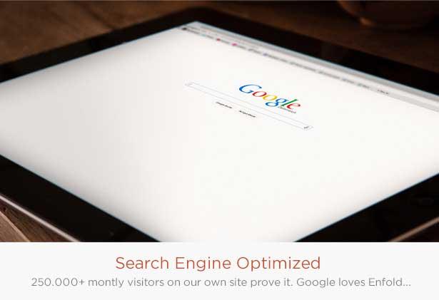 بهینه سازی موتور جستجو قالب وردپرس انفولد