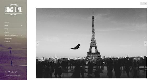 معرفی 30 قالب ازبهترین قالب های عکاسی وردپرس