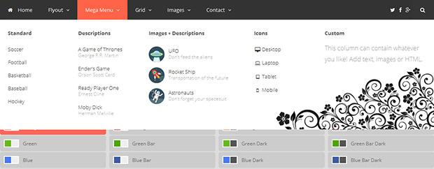 افزونه ساخت مگامنو در وردپرس Mega Menu WordPress