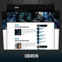 قالب وردپرس Obiron فارسی مخصوص سایت بازی و نرم افزار