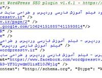 کد حذف لینک تبلیغاتی و توضیحات افزونه سئو وردپرس WordPress Seo Yoast