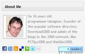نمایش توضیحات مدیر سایت در ابزارک وردپرس