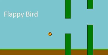 اسکریپت بازی آنلاین پرش جوجه Flappy Bird