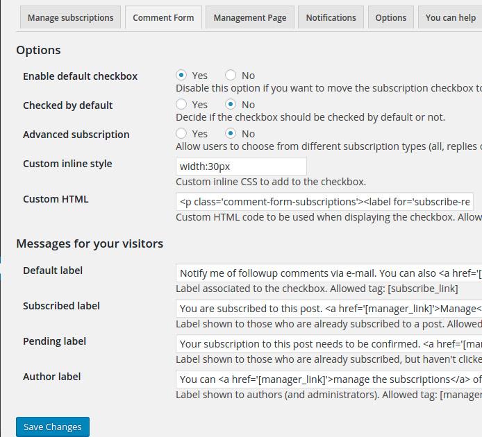 ارسال پاسخ دیدگاه در وردپرس به ایمیل نویسنده نظر