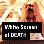 ارور صفحه سفید وردپرس