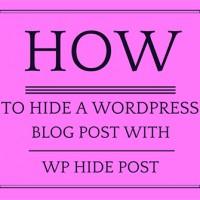 مخفی کردن مطالب وردپرس از صفحه اصلی یا لیست نوشته کوئری