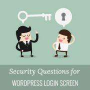 افزونه اضافه نمودن سوال امنیتی در صفحه ورود